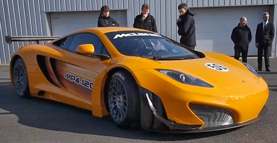 The McLaren MP4-12C, GT3 Race Car
