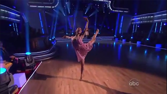 Patricia Zhou Dancing On DWTS